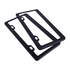 Custom High quality license plate frame factory