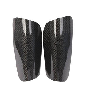 Custom Carbon fiber shin guards price factory