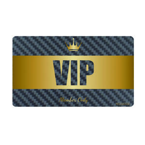 OEM carbon fiber vip card price manufacturer