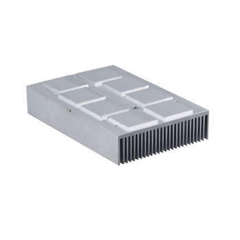 Aluminum Heat Sink with CNC Machining