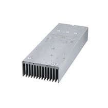 Aluminum Heat Sink with Anodizing