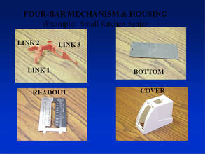 FOUR-BAR MECHANISM&HOUSING