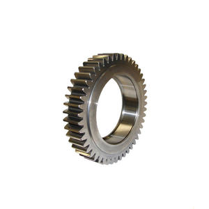 Custom precision metal fixed gear spur and helical gears starter drive gear
