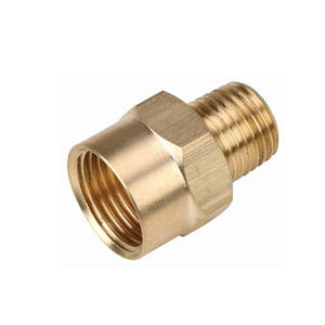 Precision machined brass adapter