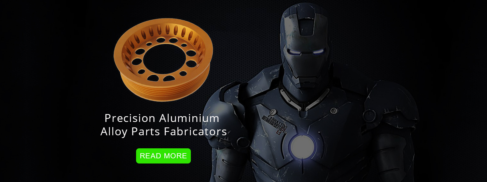 precision aluminium alloy parts fabricators
