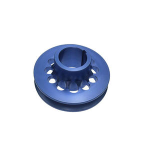 OEM Precision Blue Anodized CNC Machining Parts