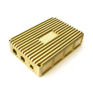 Custom CNC Machined Milled Turned Brass Parts