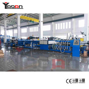 China Custom-made PP  flute hollow sheet extrusion machine manufacturers