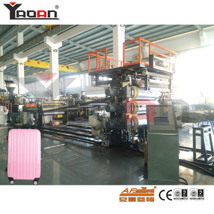 PC ABS Three Layers Hard Luggage Thermoforming Machine