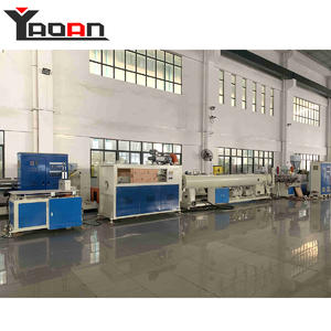 China Electricity conduct pipe hard rigid PVC pipe machine factory