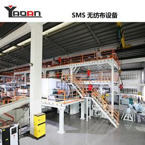 SMS Nonwoven Fabric Machine Production Line