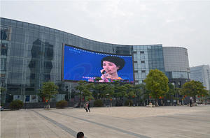 high quality P25 outdoor full color LED display factory