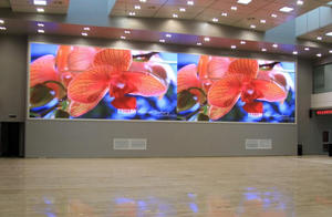 P1 9 display de LED HD interior