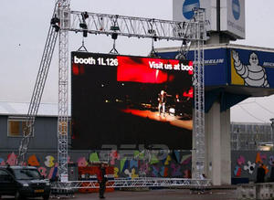 China P4.81 outdoor rental LED display supplier