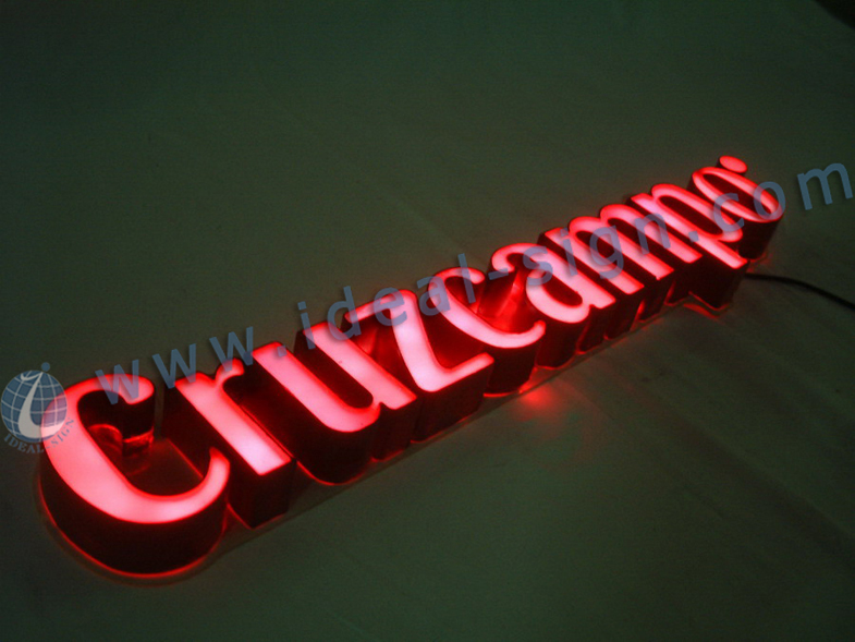 Indoor LED Resin words / led light sign