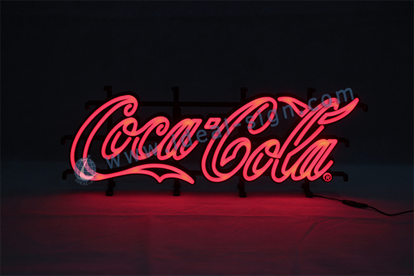 Coca Cola led neon sign