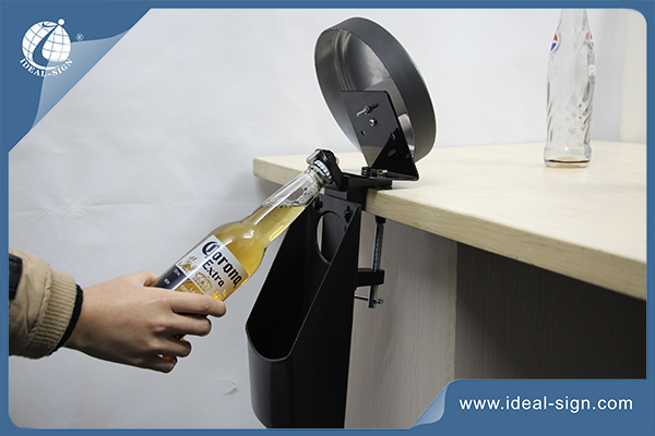 Ideal Sign Bacardi bar mounted bottle opener