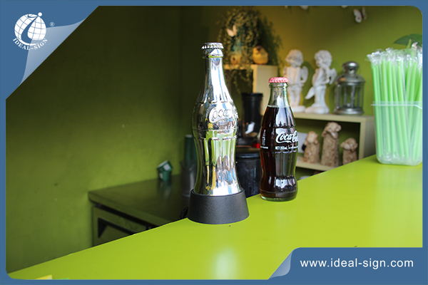 coca cola bar mounted bottle opener