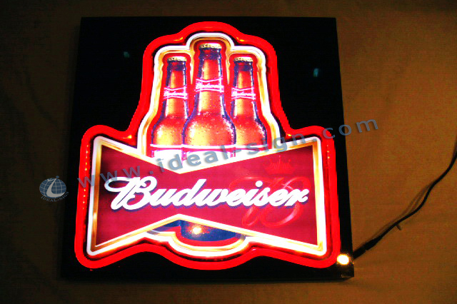 Budweiser led board sign