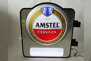 Wall Amounted Amstel Vacuum Formed Sign