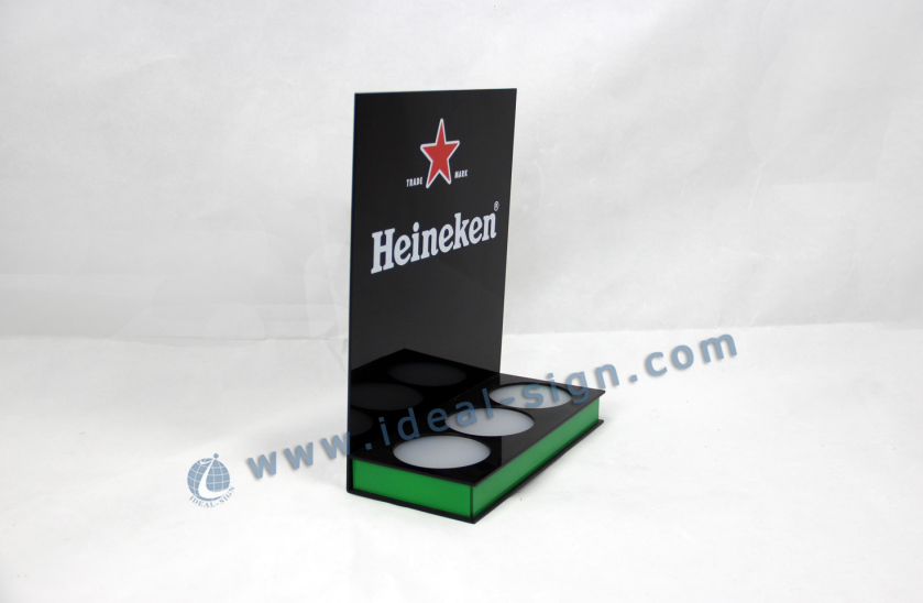 Heineken LED Beer Bottle Display for Advertising