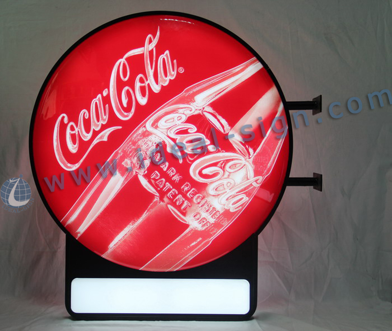 Custom Vacuum Formed Sign Coca Cola Led Sign