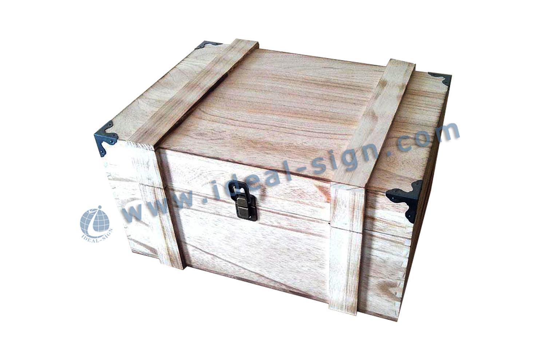 Personalized Paulownia Wood Wine Box