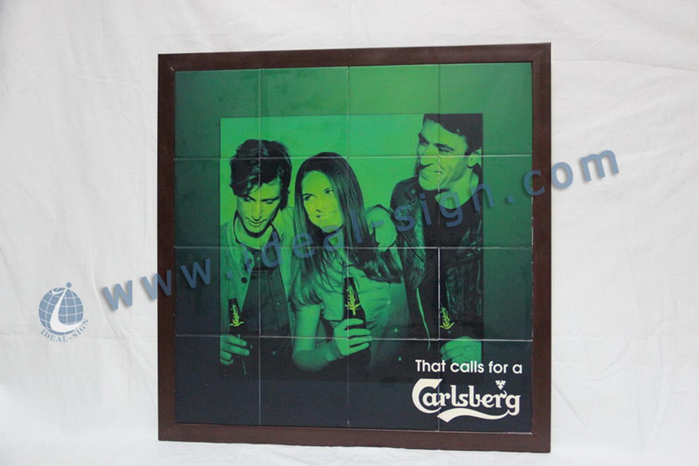 Carsberg Wooden Frame Poster