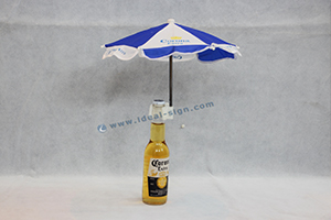 mini umbrella for drinking display
