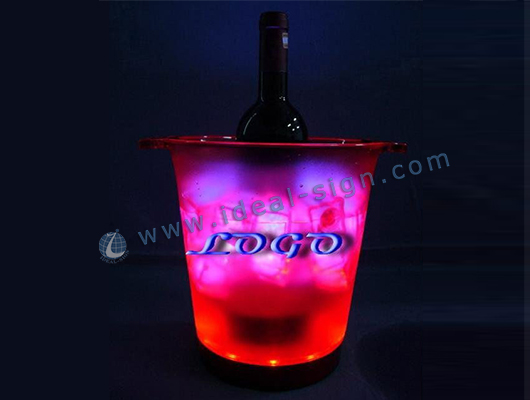 3L / 4.5 L Plastic LED Ice Bucket