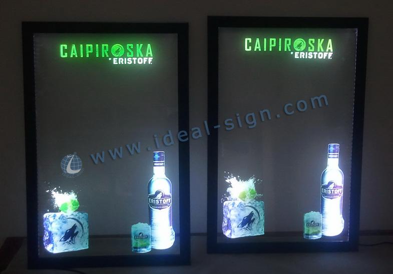 fluorescent led writing blackboard