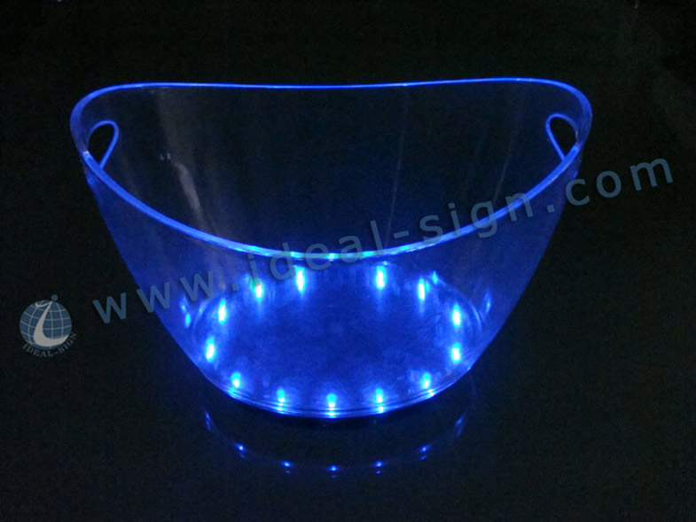12L Big storage Led Ice Bucket In Bar