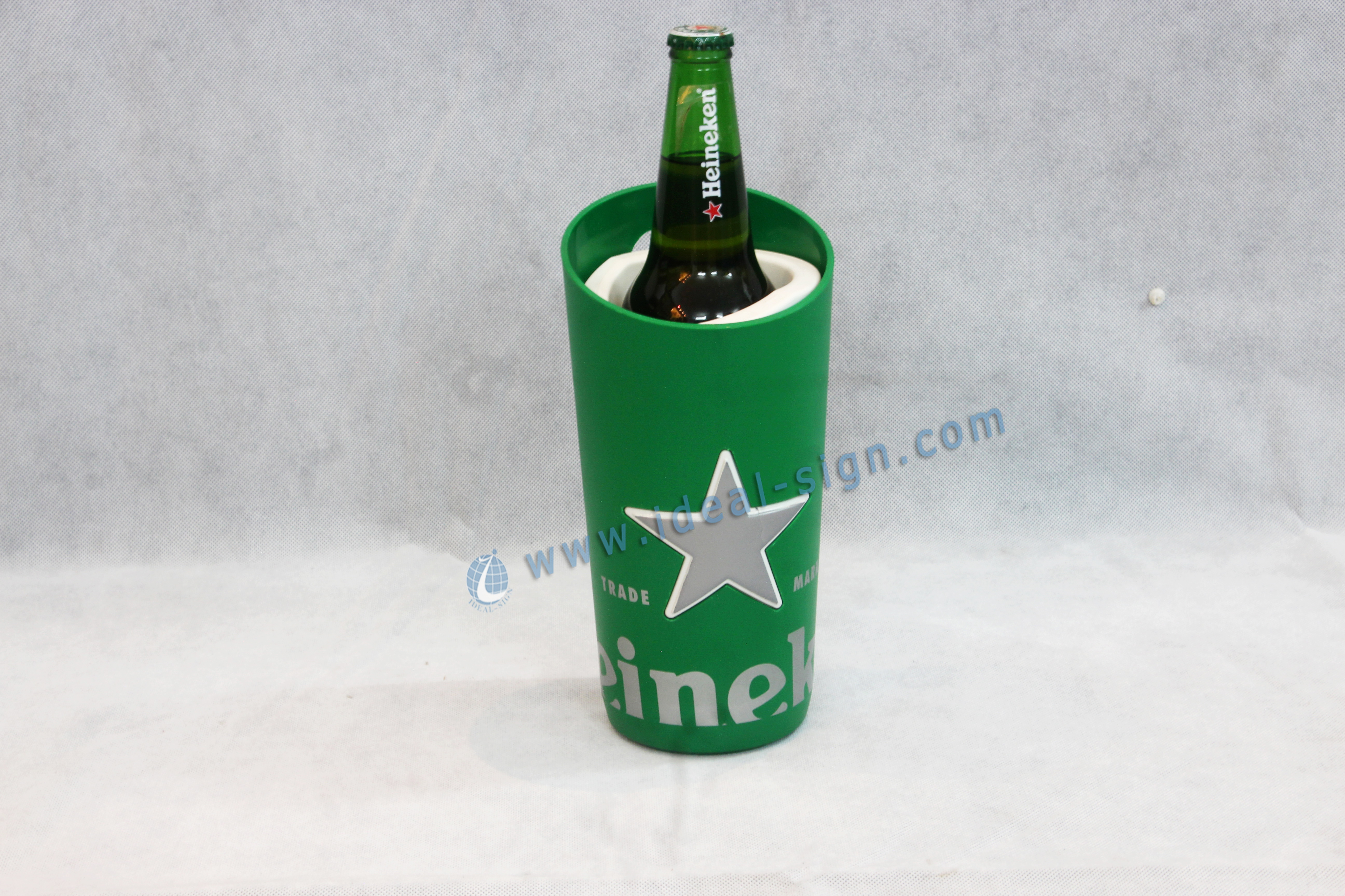 wholesale price Devassa LED PVC Wine Bottle Rack