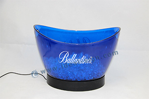 plastic ice buckets with led base