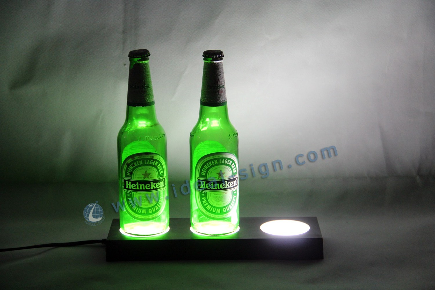 Liquor Bottle Display/Glorifier PS Inject Plastic Case