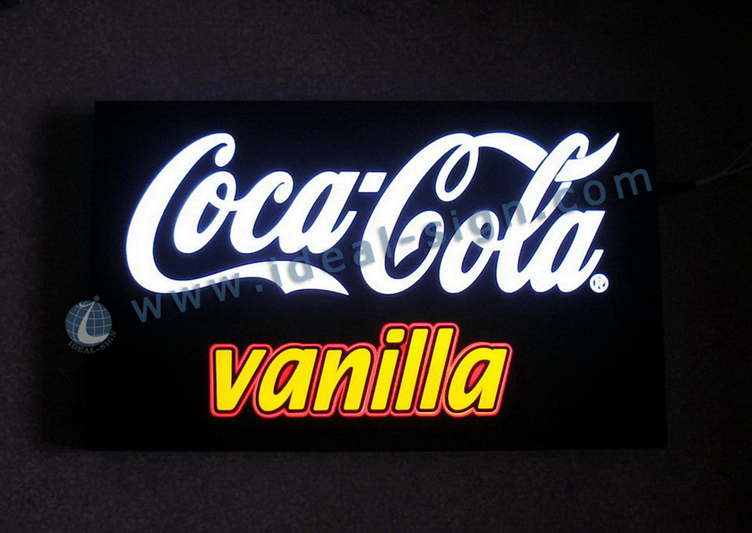 Coca Cola Indoor LED light box