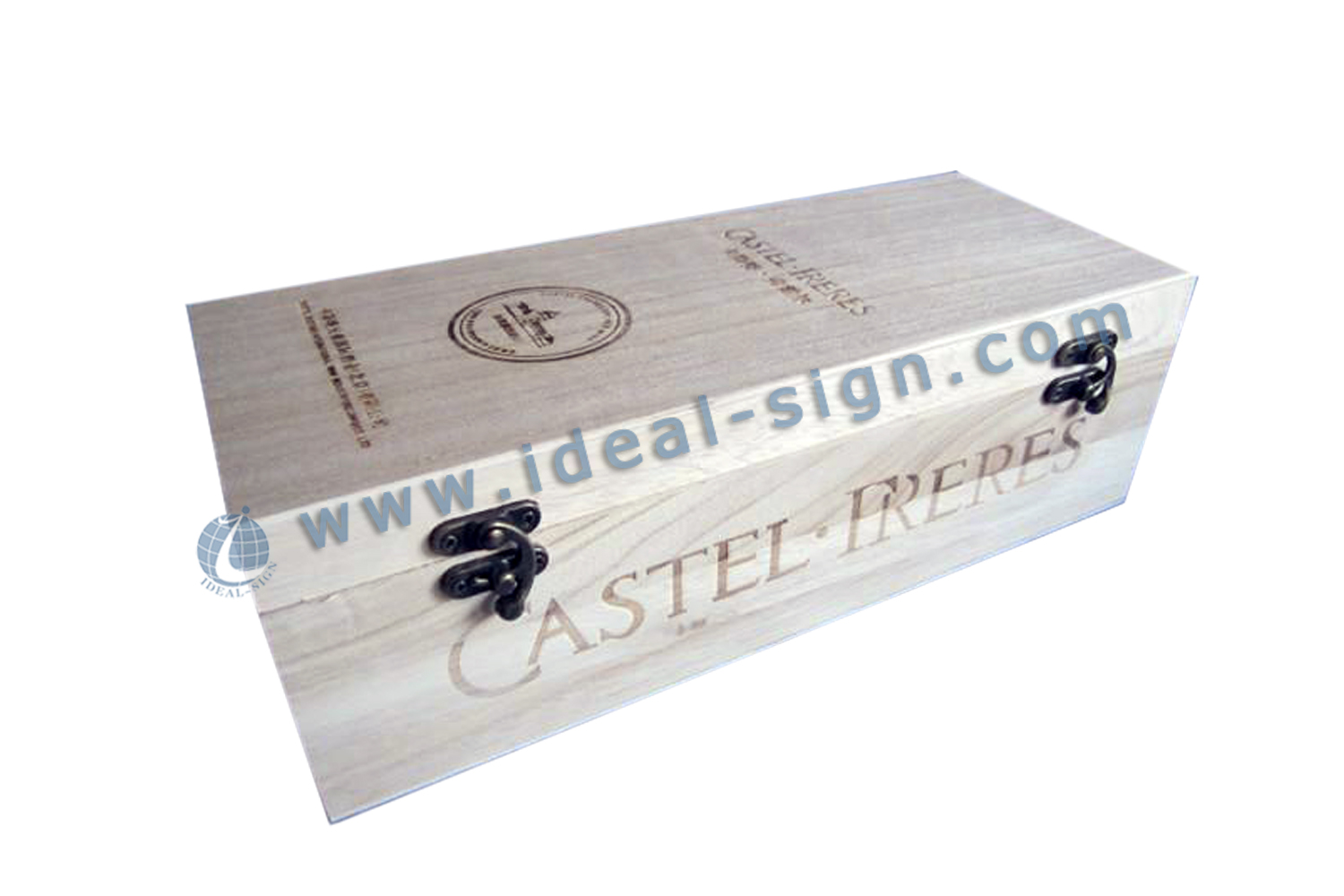 Simple style Wine Wood Gift Box