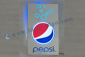 Pepsi flash light box supplier