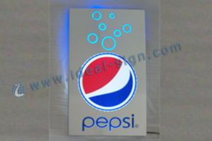 Pepsi flash light box supplier
