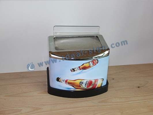 Zinc Alloy Bar Top Bottle Opener With Napkin Holder