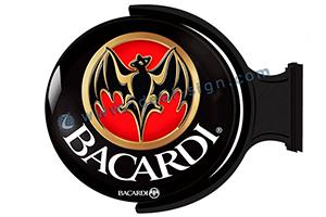 Bacardi vacuum formed acrylic sign