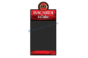 bacardi advertising board manufacturers