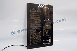 desperados slim led light box