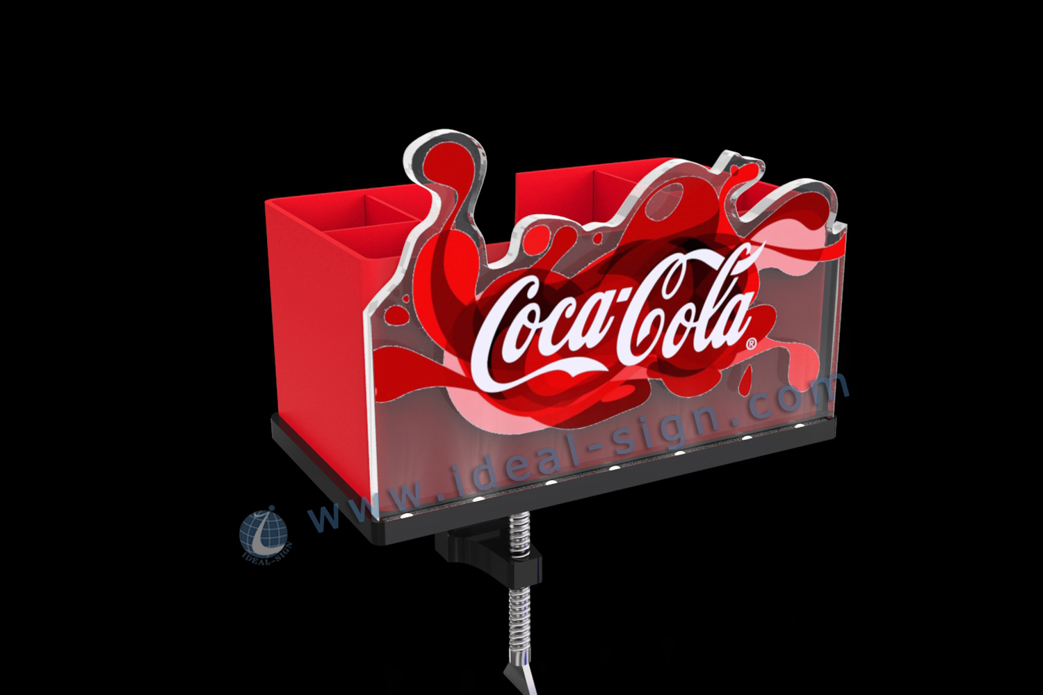Coca Cola acrylic bottle opener