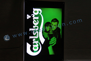 light box display signs