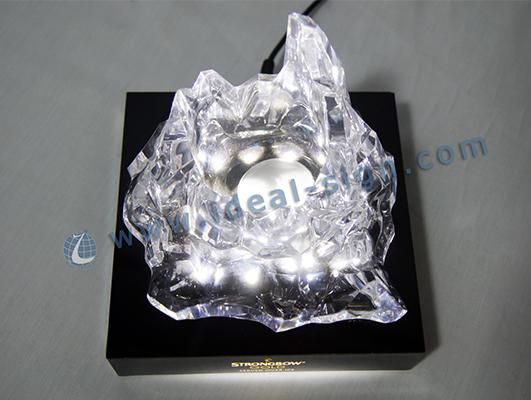 Custom Made Resin Bar Bottle Display Holder