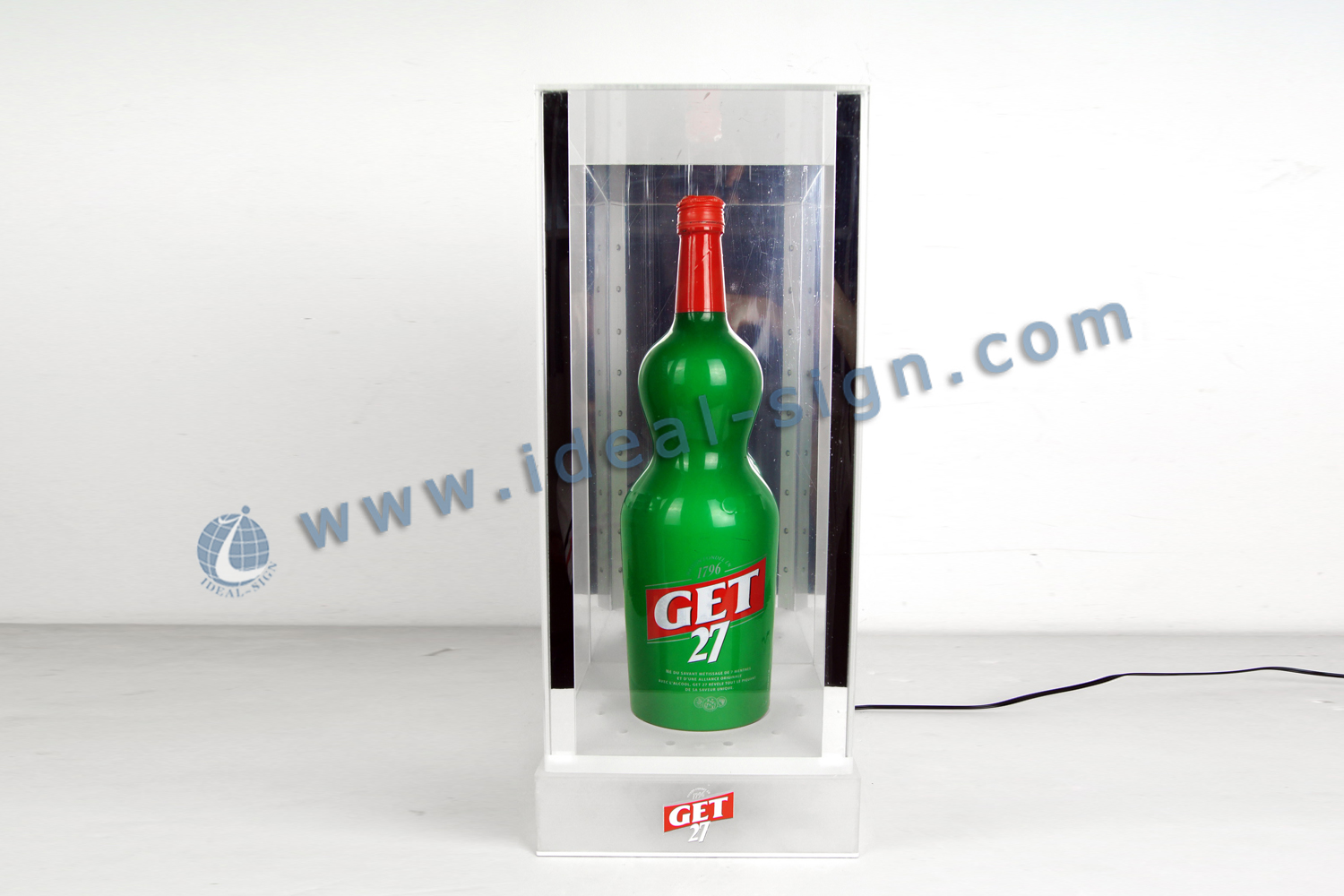 GET27 LED Lighted Liquor Bottle Display