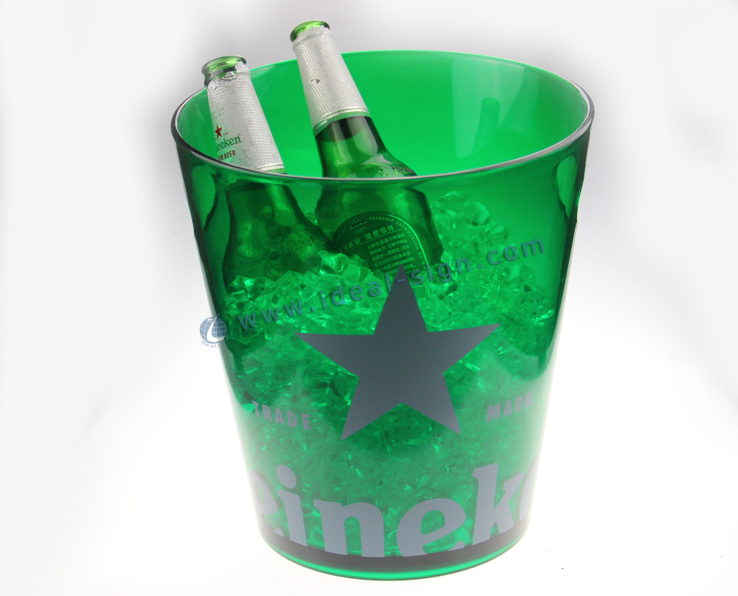 Top Quality Illuminated Injection LED ice bucket
