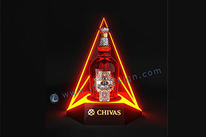 light up bottle display