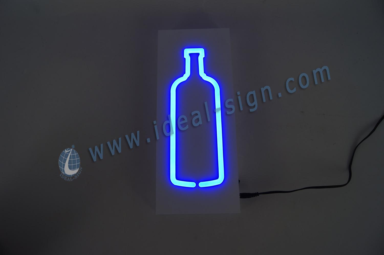 Custom Indoor LED Soft Neon Sign / light box sign